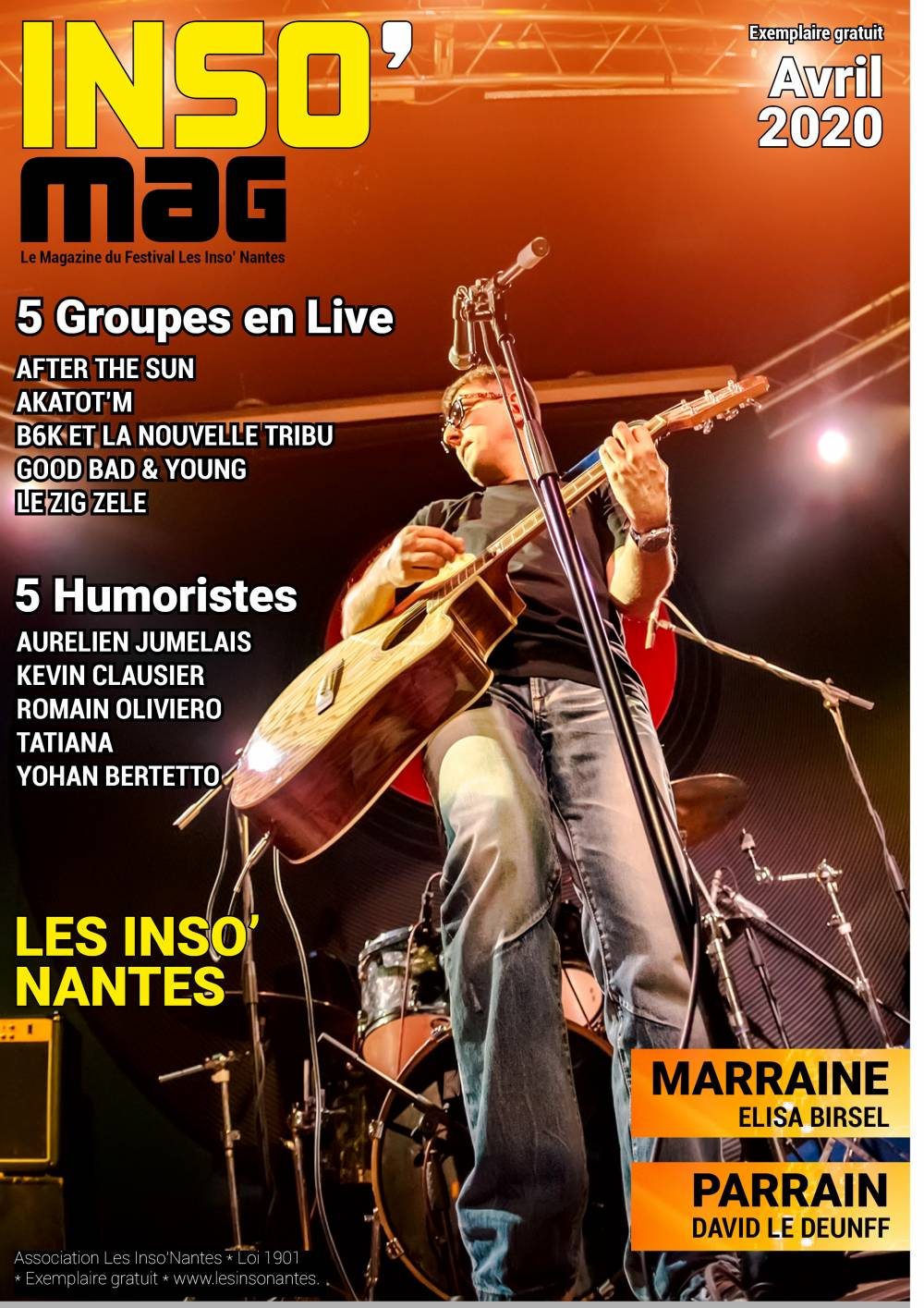 INSO maG AVRIL 2020 - FESTIVAL LES INSO NANTES