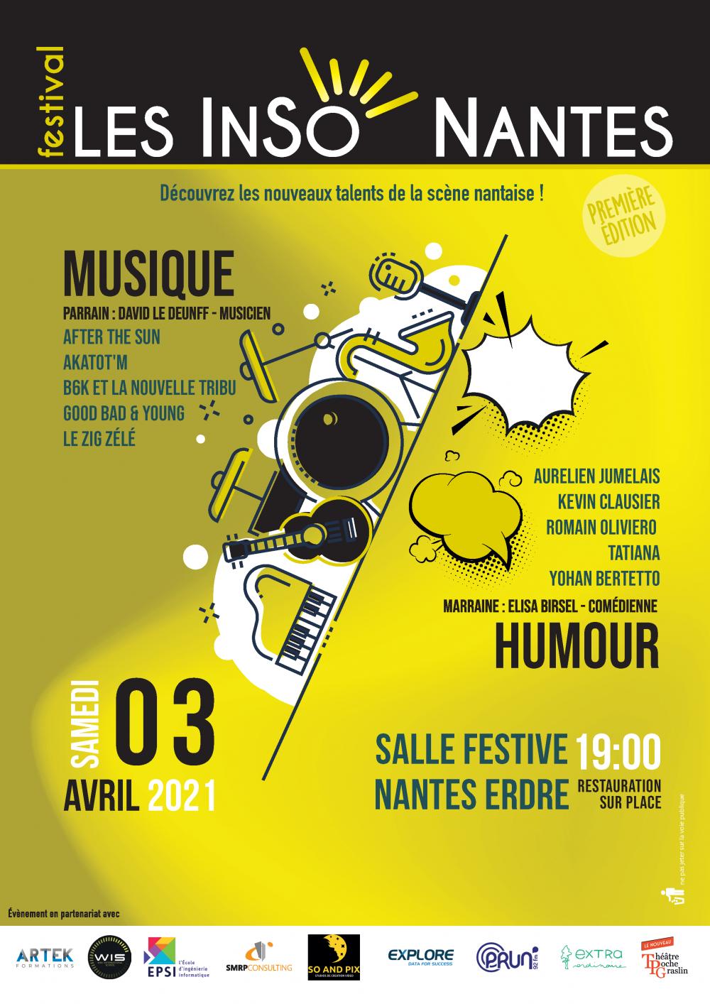 FESTIVAL LESINSONANTES AFFICHE 03/04/2021 (Edition 1 - 03/04/2021)